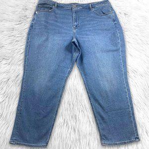 American Eagle NWT Hi Rise Mom Jeans Plus Size 24